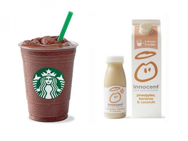 Are Starbucks Smoothies Healthy  5 Healthy Breakfasts With As Much Sugar As A Starbucks