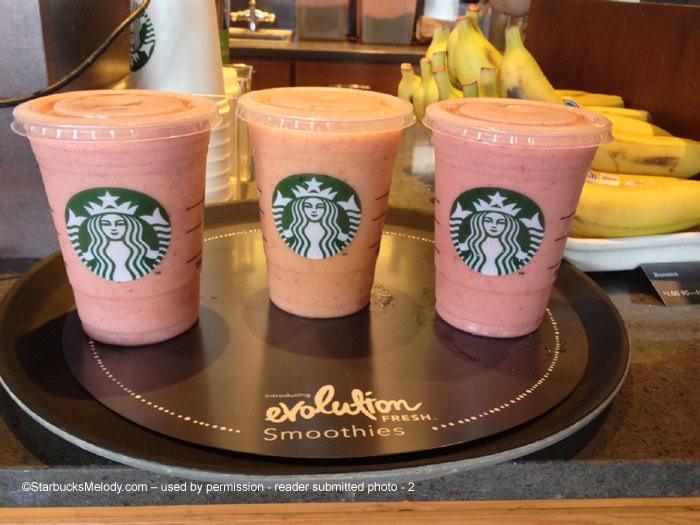 Are Starbucks Smoothies Healthy  starbucks strawberry smoothie nutrition facts