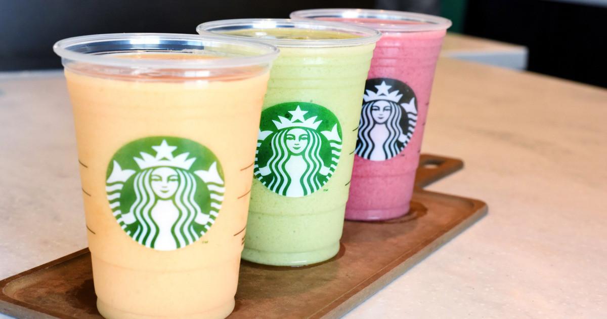 Are Starbucks Smoothies Healthy  Starbucks Will Debut Kale Smoothies Today Grub Street