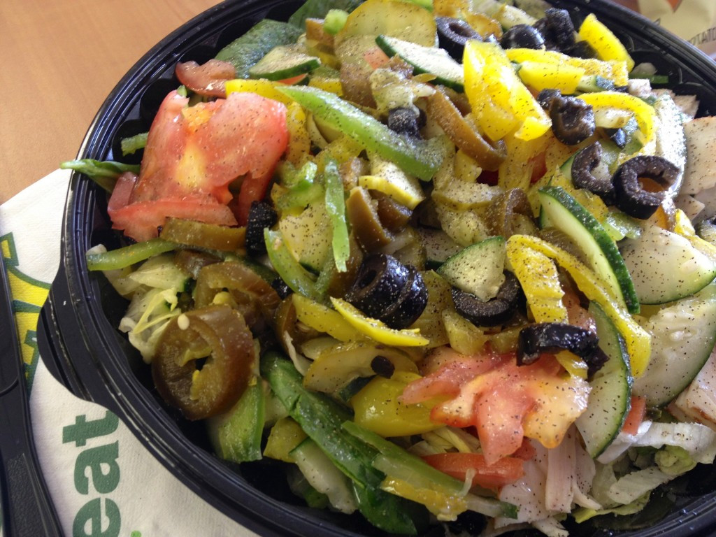 Are Subway Salads Healthy  What I Ate Wednesday WIAW 4