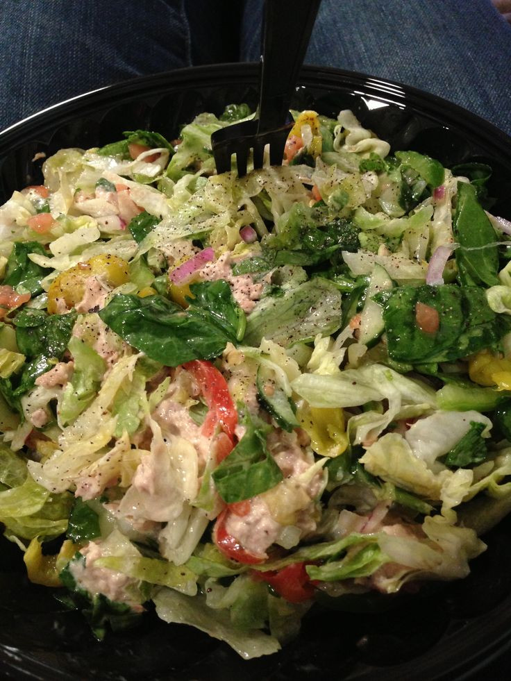 Are Subway Salads Healthy  Subway Salad Easy lunch to stay on track with the