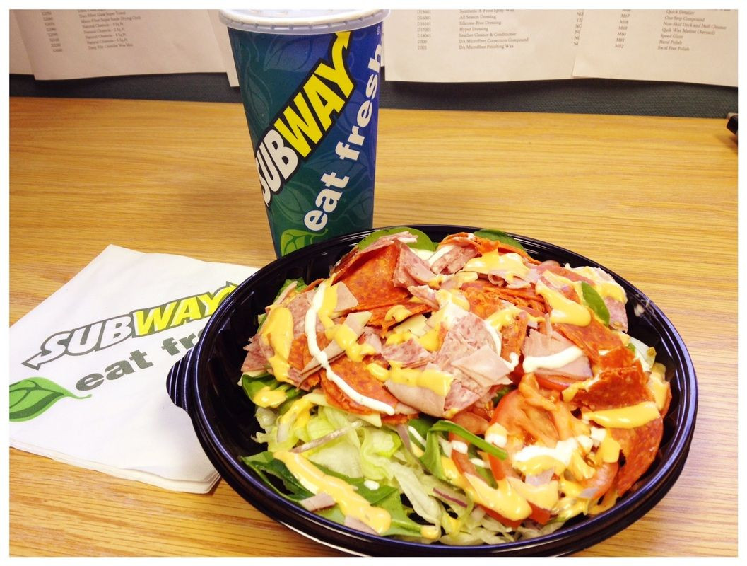 Are Subway Salads Healthy  Eating out Low carb No problem Subway makes excellent