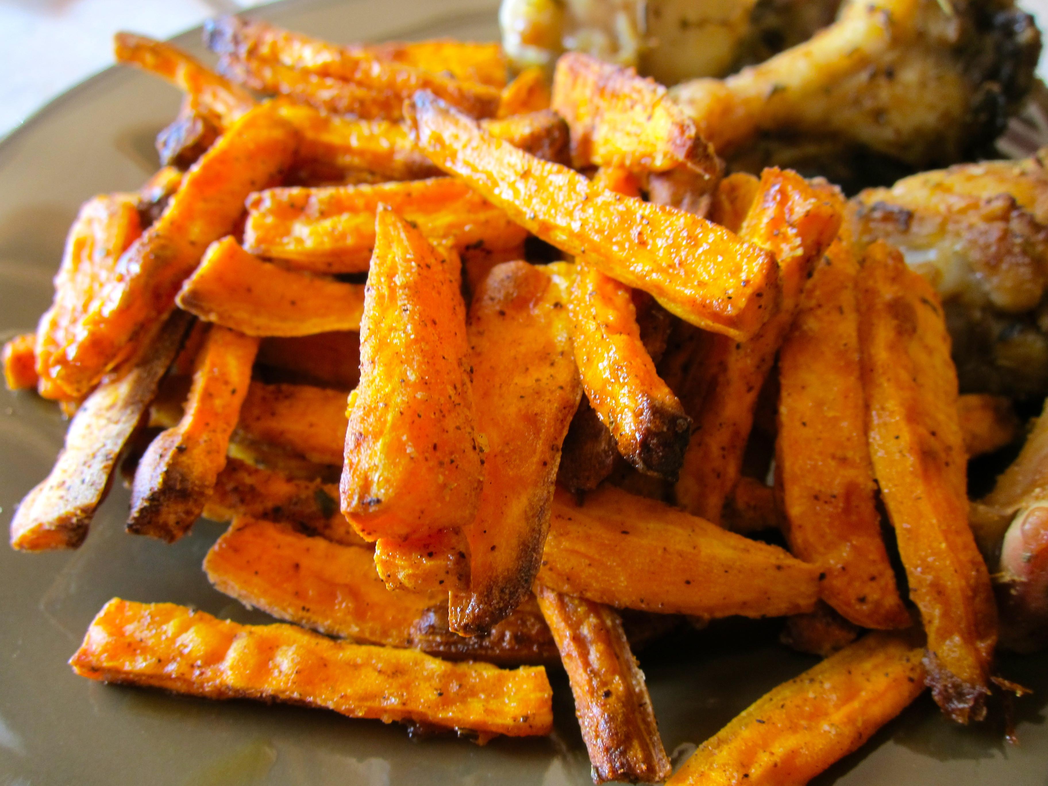 Are Sweet Potato Fries Healthy  Crispy Sweet Potato Fries – Simply Living Healthy
