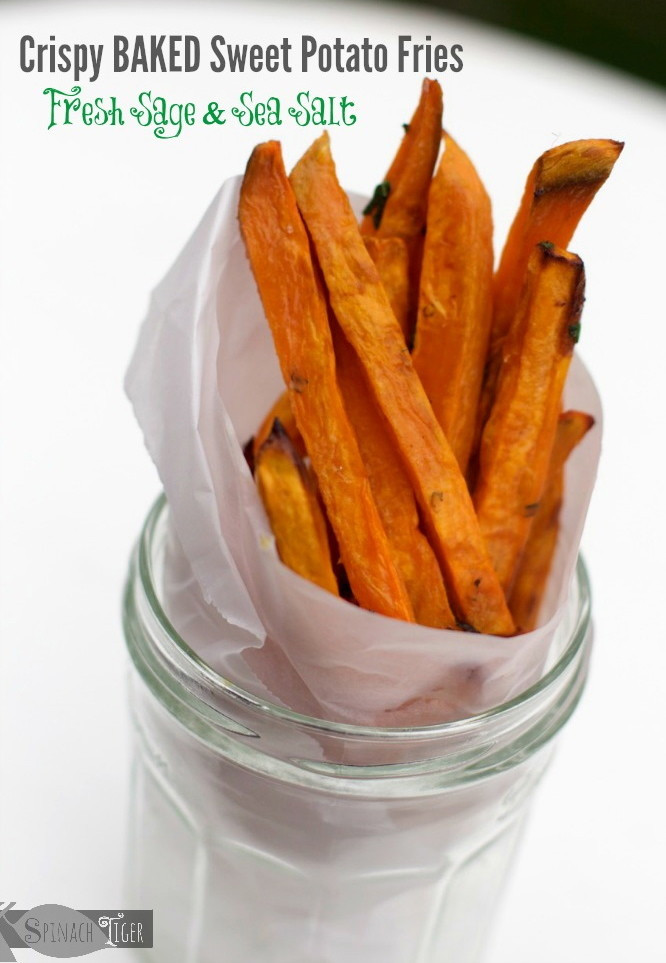 Are Sweet Potato Fries Healthy  Sage Kissed Crispy Baked Healthy Sweet Potato Fries