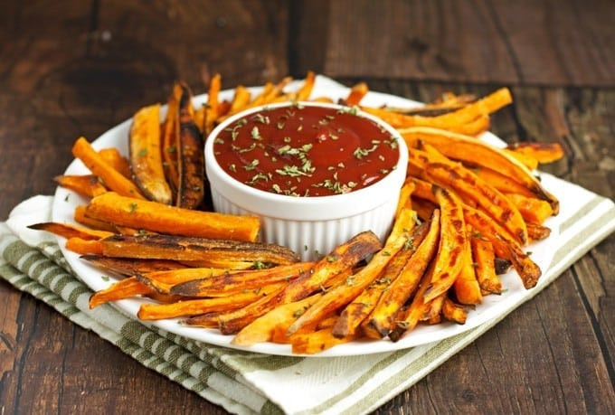Are Sweet Potato Fries Healthy  Healthy Baked Sweet Potato Fries 2teaspoons