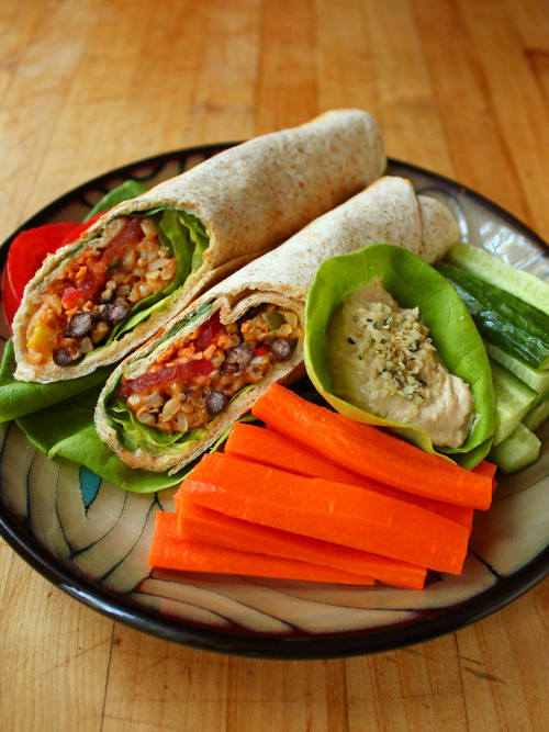 Are Taco Bell Bean Burritos Healthy  Brown rice and black bean burrito filling brown