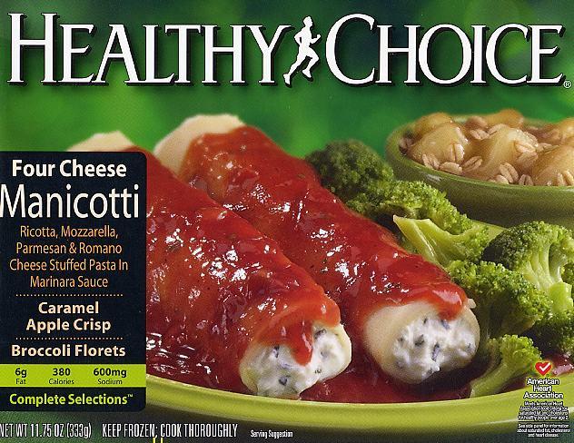 Are Tv Dinners Healthy  Tv dinners healthy choice