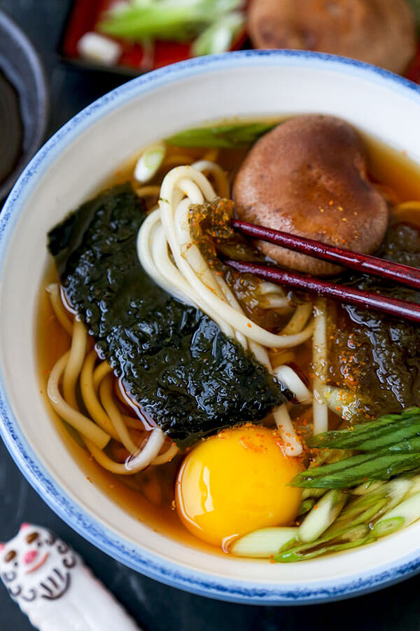 Are Udon Noodles Healthy  Light Udon Noodle Soup Pickled Plum Food And Drinks