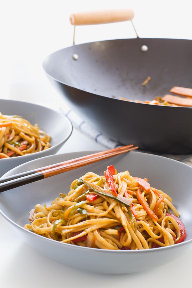 Are Udon Noodles Healthy  Vegan Stir Fried Udon Noodles Simple Vegan Blog