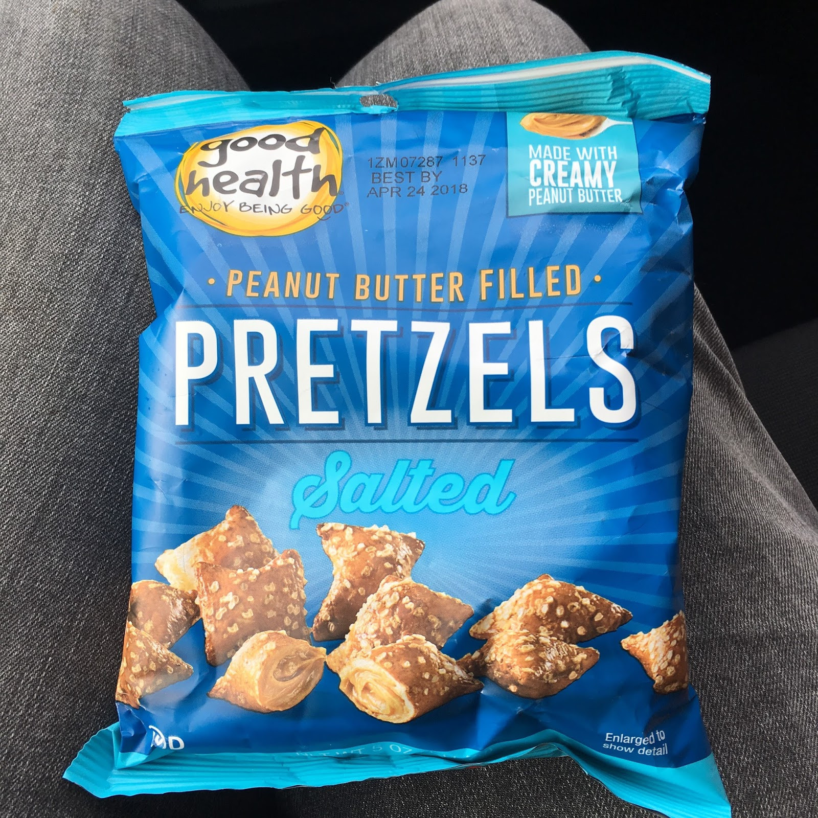 Are Unsalted Pretzels Healthy  peanut butter filled pretzels healthy