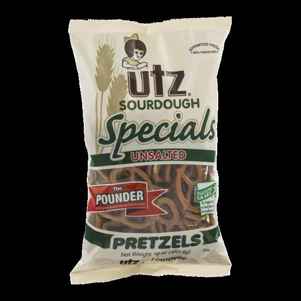 Are Unsalted Pretzels Healthy  UTZ Specials Sourdough Pretzels Unsalted Reviews