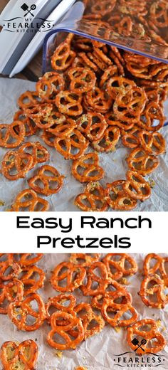 Are Unsalted Pretzels Healthy  Garlic Parmesan Pretzels Recipe