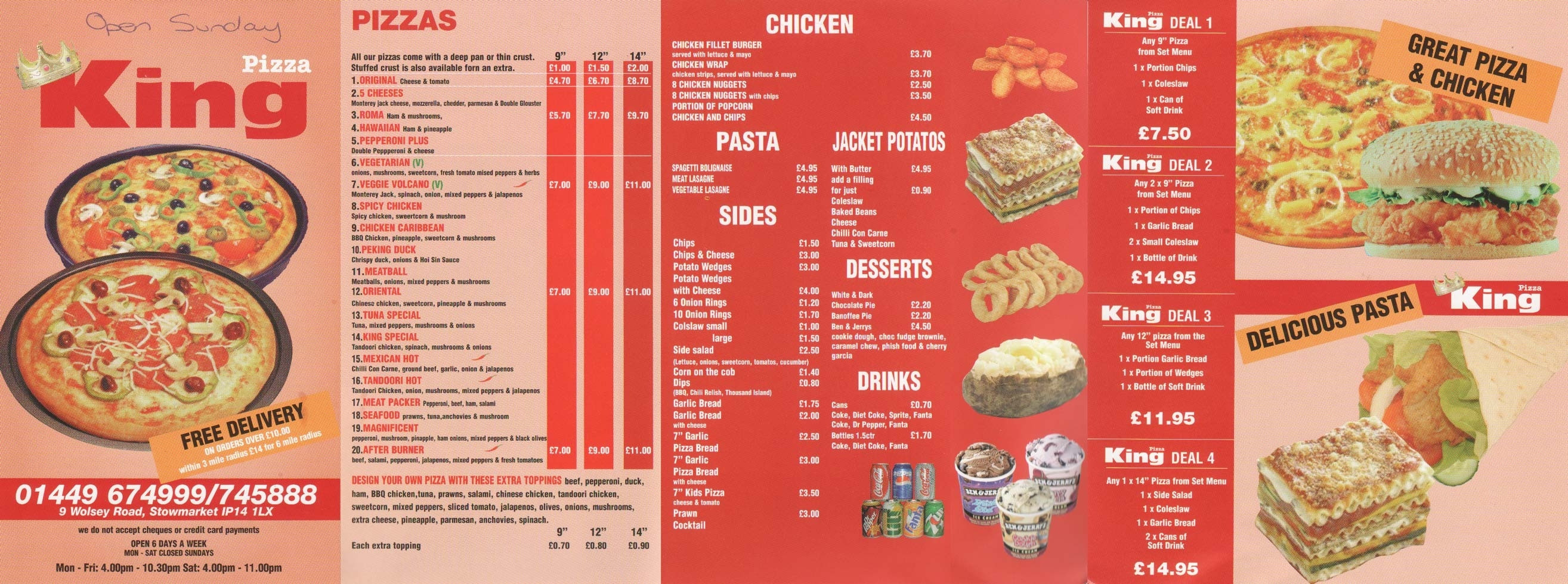 Are Wendy'S Salads Healthy  Kings Pizza Menu