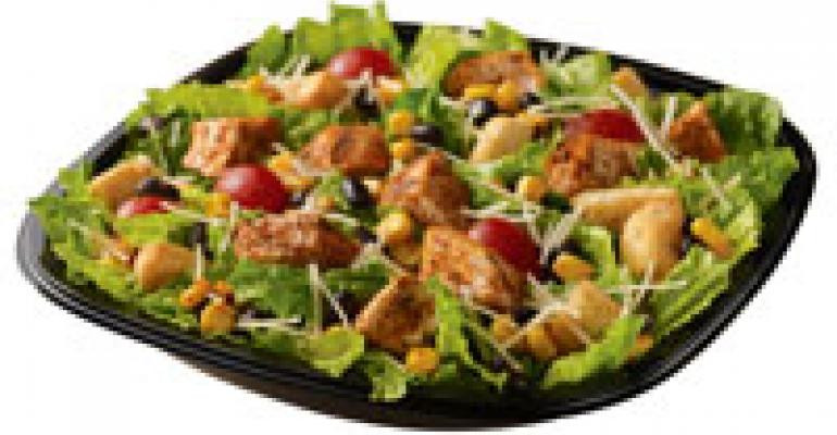 Are Wendy'S Salads Healthy  Wendy s brings back Southwest Chicken Caesar Salad