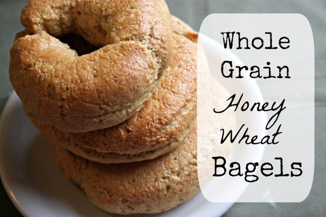 Are Whole Wheat Bagels Healthy  9 best Recipe Grain images on Pinterest