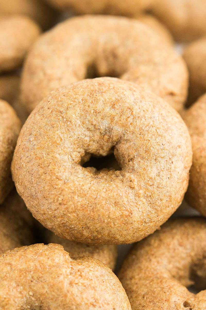 Are Whole Wheat Bagels Healthy  Healthy Mini Whole Wheat Bagels recipe