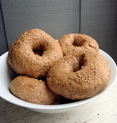 Are Whole Wheat Bagels Healthy  Kaitlyn Cooks Healthier Homemade Whole Wheat Bagels