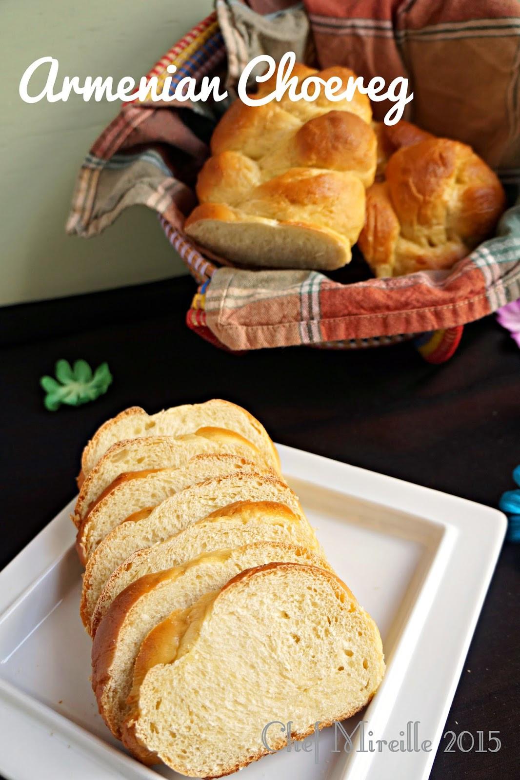 Armenian Easter Bread  Choereg Armenian Easter Bread for BreadBakers The