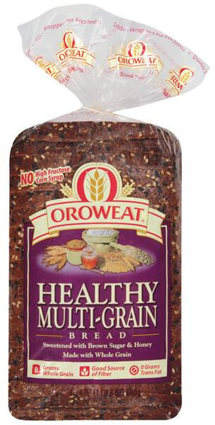 Arnold Healthy Multigrain Bread  Oroweat Healthy Multi Grain Bread 24 Oz Loaf