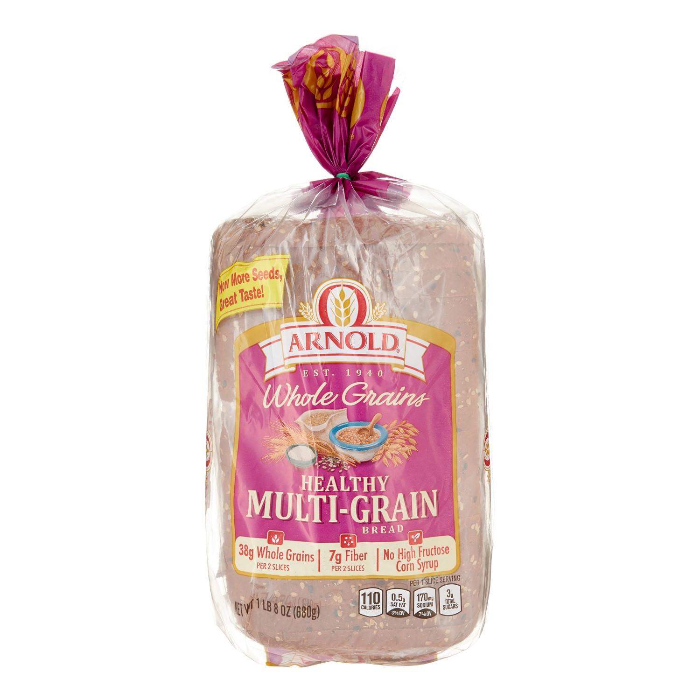 Arnold Healthy Multigrain Bread  Arnold Whole Grain Healthy Multigrain Bread 24 Oz