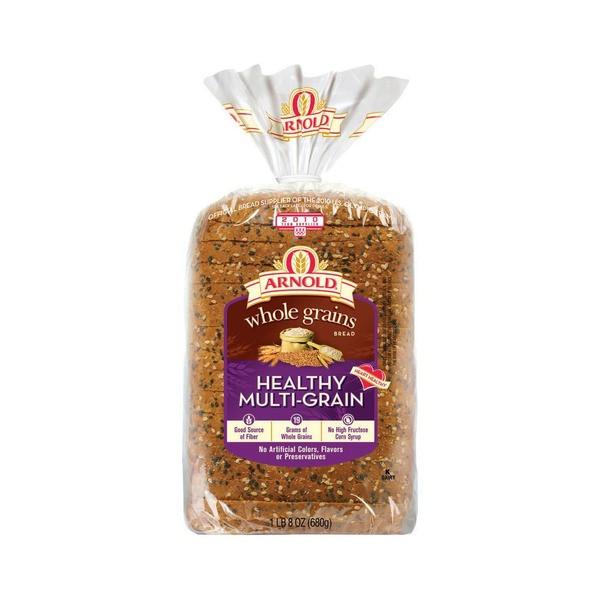 Arnold Healthy Multigrain Bread  Arnold Whole Grains Bread Healthy Multi Grain from Food