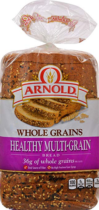 Arnold Healthy Multigrain Bread  Arnold 100 Whole Wheat Bread Nutrition Facts – Besto Blog