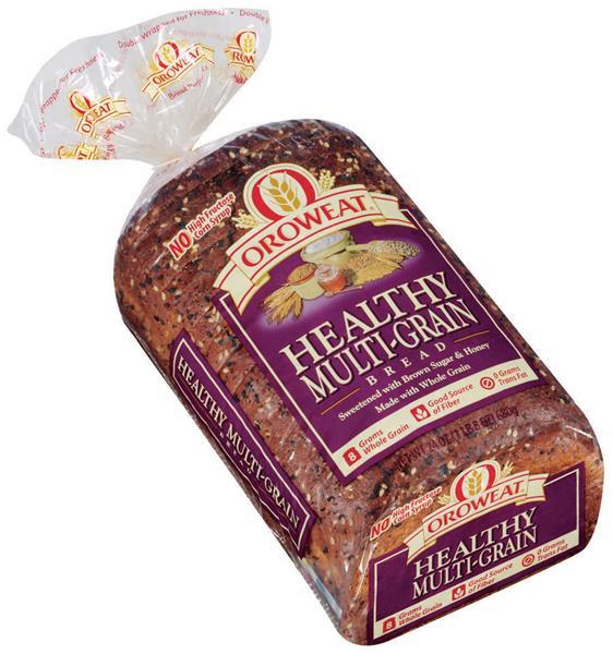 Arnold Healthy Multigrain Bread  Oroweat Healthy Multi Grain Bread 24 Oz Loaf