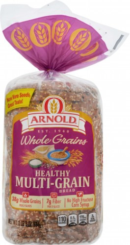 Arnold Healthy Multigrain Bread  UPC Arnold Healthy Multi Grain Bread 24 oz