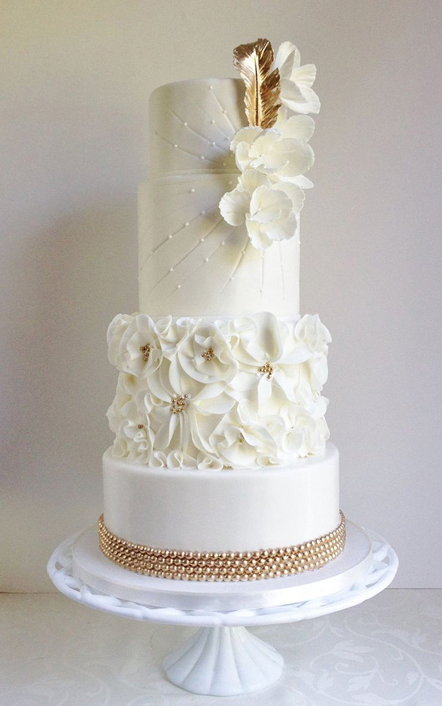 Art Deco Wedding Cakes  Art Deco Wedding Cake Ideas
