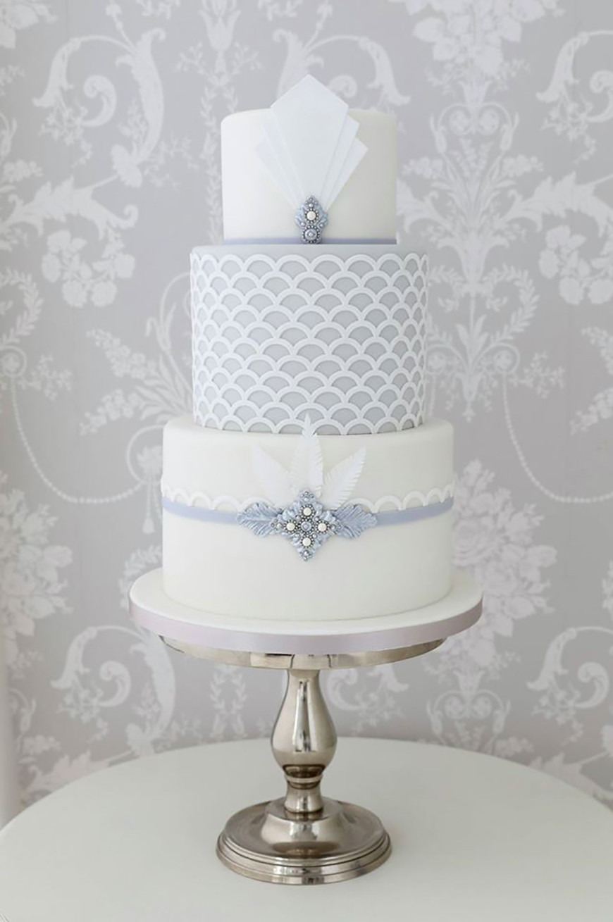 Art Deco Wedding Cakes  Art Deco Wedding Cakes