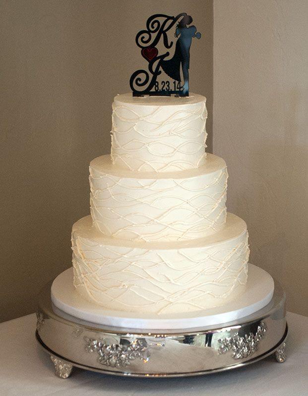 Asheville Wedding Cakes  Sample Wedding Cake Display Picture Karen Donatelli