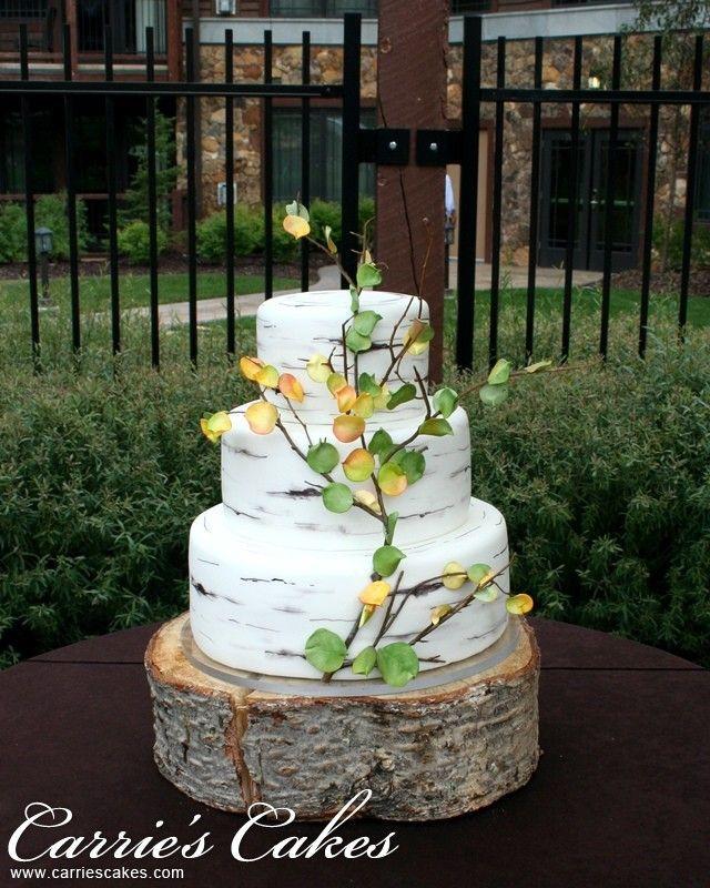 Aspen Tree Wedding Cakes  1000 images about Aspen Tree Wedding Cakes on Pinterest
