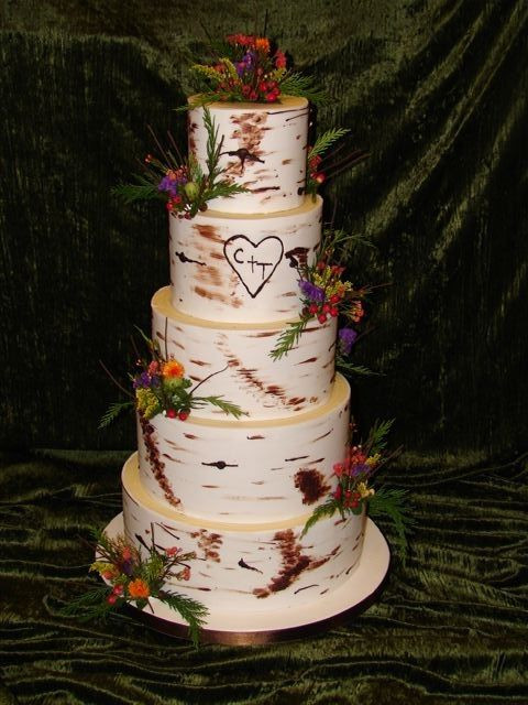 Aspen Tree Wedding Cakes  17 Best ideas about Birch Wedding Cakes on Pinterest