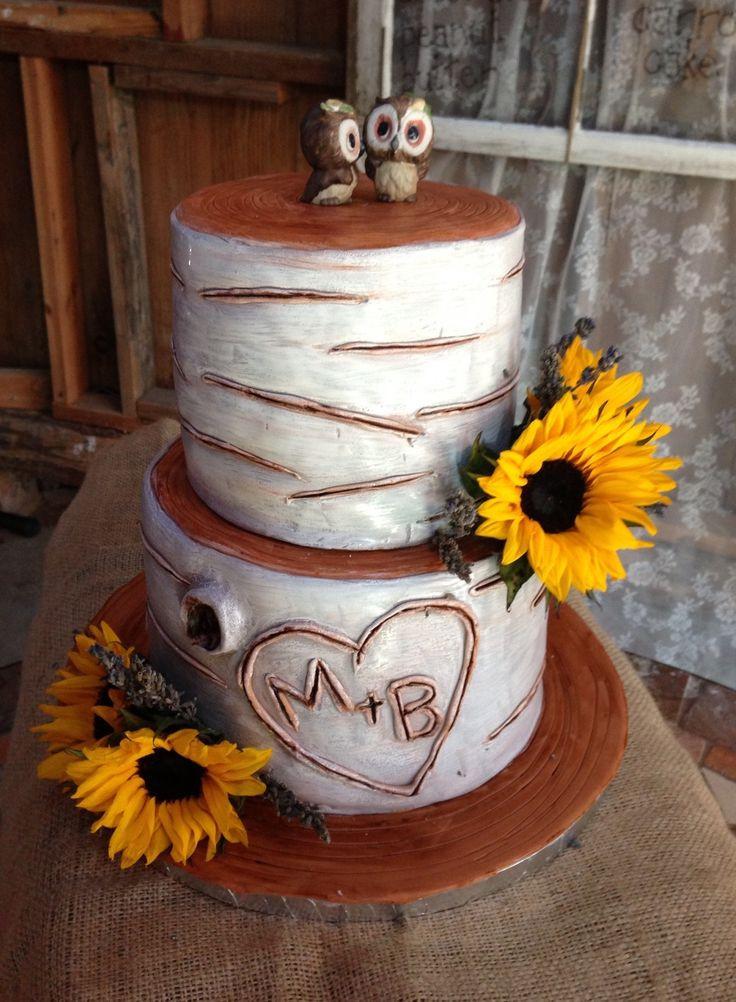 Aspen Tree Wedding Cakes  Aspen Tree Wedding Cake Weddings Pinterest