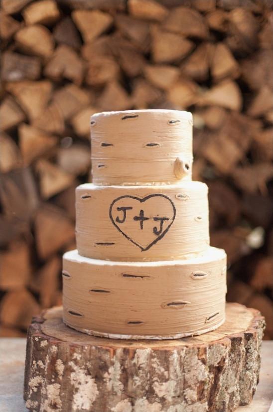 Aspen Tree Wedding Cakes  Blog Red And Orange Fall Wedding