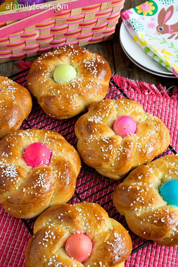 Authentic Italian Easter Bread Recipe  Italian Easter Bread Pane di Pasqua A Family Feast