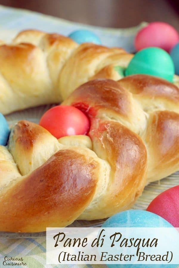 Authentic Italian Easter Bread Recipe  Pane di Pasqua Italian Easter Bread • Curious Cuisiniere