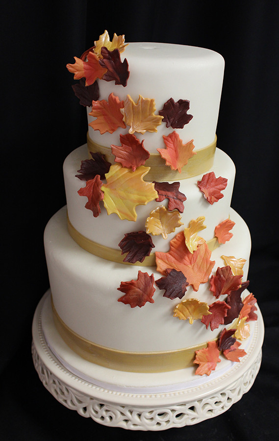Autumn Wedding Cakes  We Love Fall Weddings