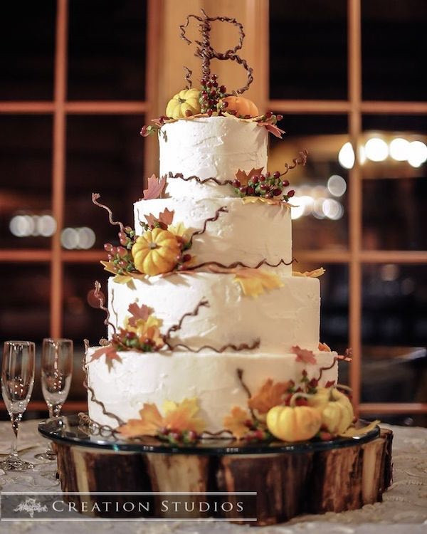 Autumn Wedding Cakes  20 Rustic Country Wedding Cakes for The Perfect Fall Wedding