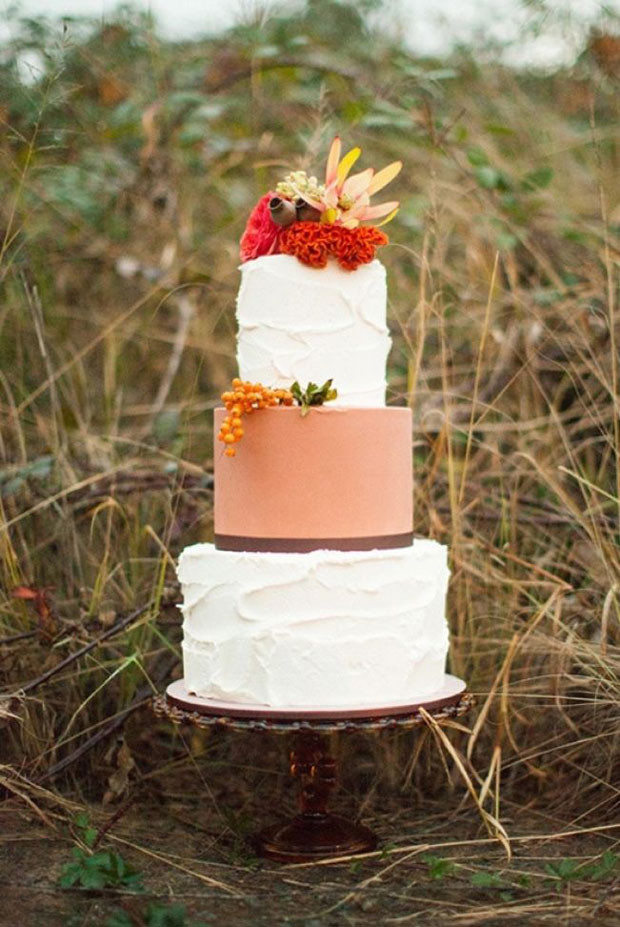Autumn Wedding Cakes  Autumn Wedding Ideas & Wedding Inspiration