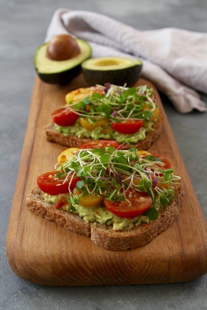 Avocado On Toast Healthy Breakfast  avocado toast healthy