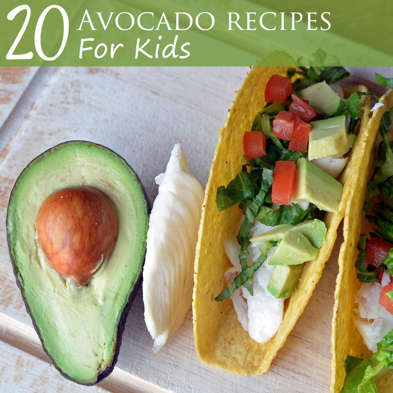 Avocado Recipes Healthy  20 Avocado Recipes for Kids