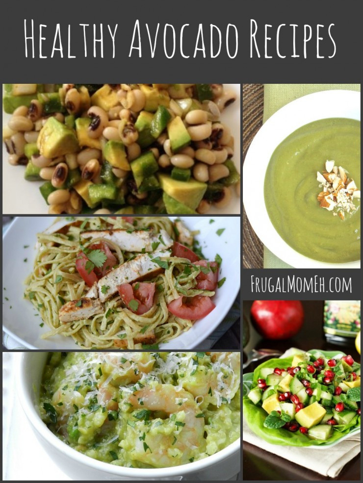 Avocado Recipes Healthy  Healthy Avocado Recipes Frugal Mom Eh