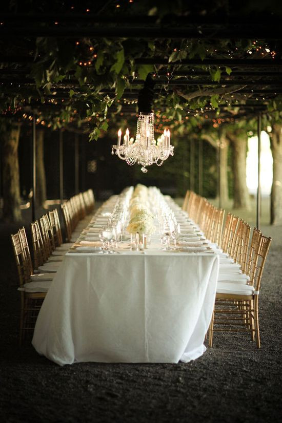 Background Music For Wedding Dinner  1000 ideas about Outdoor Table Settings on Pinterest