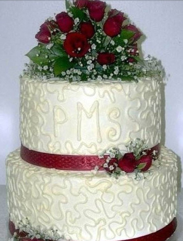 Bad Wedding Cakes  Are these the worst wedding cakes EVER