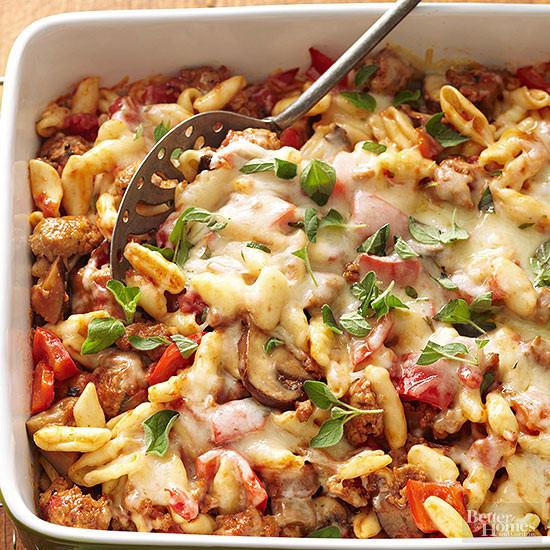 Baked Chicken Casserole Healthy  Healthy Baked Cavatelli