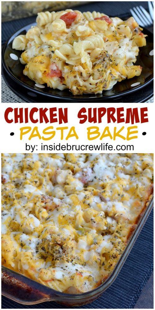 Baked Chicken Casserole Healthy  1000 ideas about Healthy Pasta Bake on Pinterest