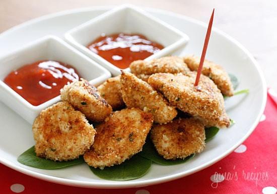Baked Chicken Recipe Healthy  Healthy Baked Chicken Nug Recipe