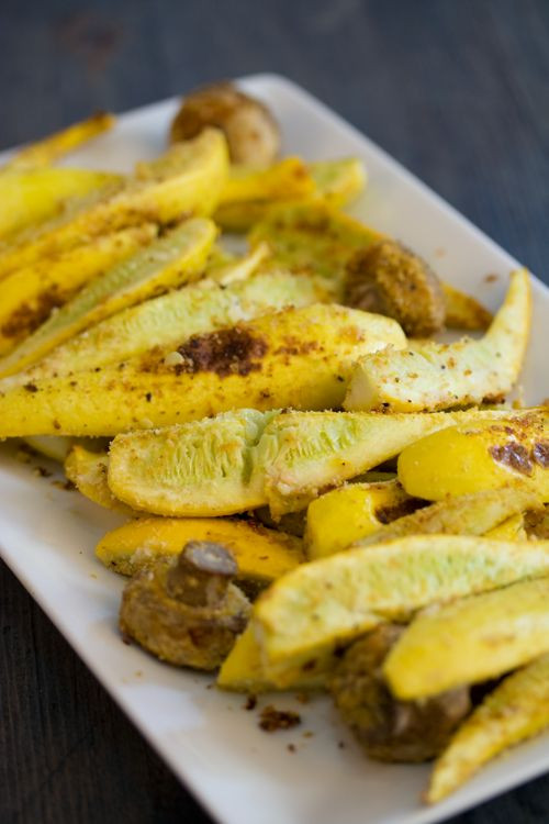 Baked Summer Squash  A simple baked summer squash recipe