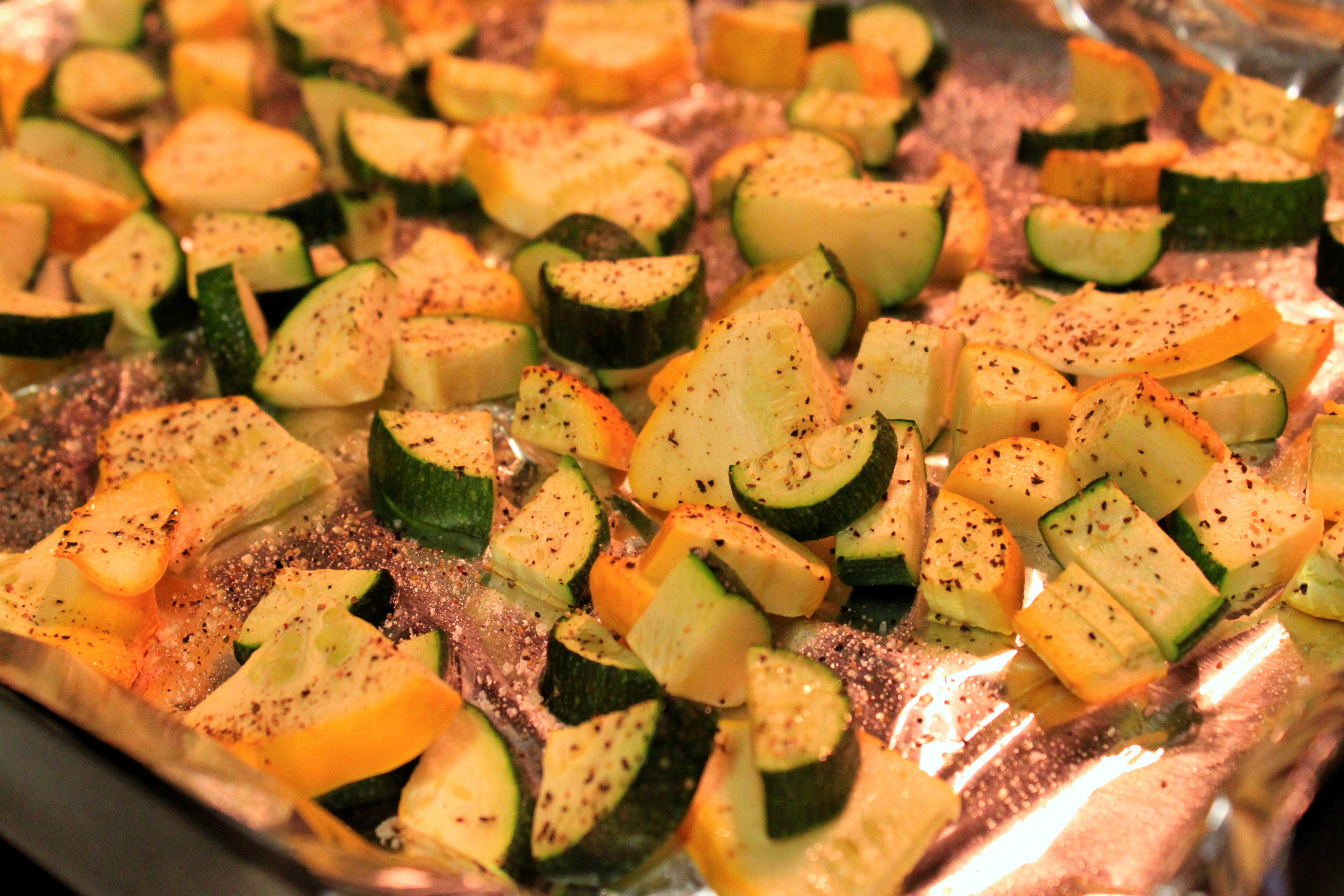 Baked Summer Squash  Super Simple Recipe Roasted Summer Squash The Picky Eater